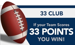 33 club at america's bookie