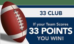 33 club at america's bookie