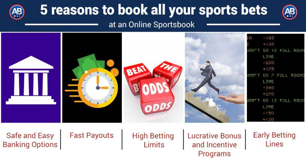5 Reasons to Book All Your Sports Bets at an Online Sportsbook