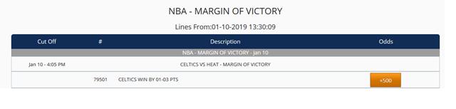 nba-margin of victory