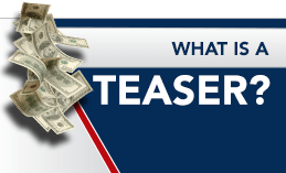 WHAT IS A TEASER?