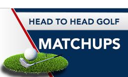 Head to head golf matchups