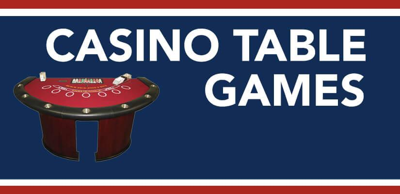 Playing Casino Table Games at Top Online Sportsbooks