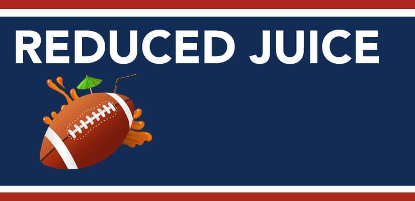 Reduced Juice at Online Sportsbooks