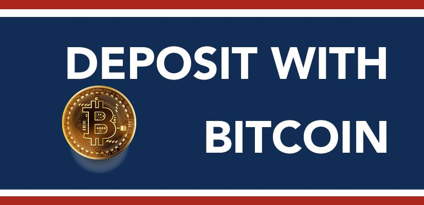 Deposit with Bitcoin