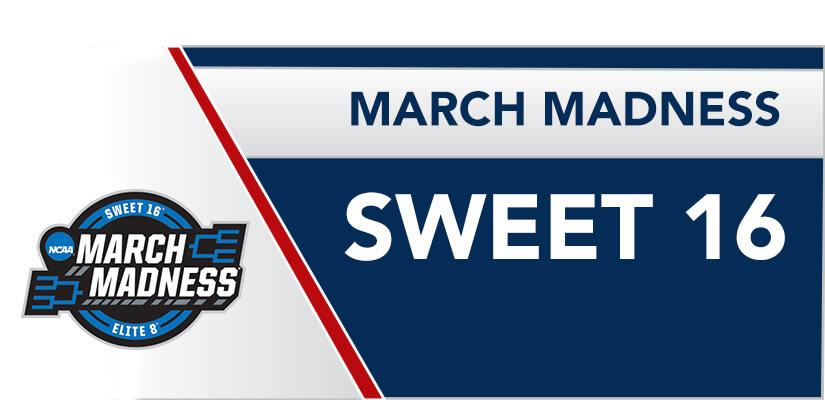 MARCH MADNESS SWEET 16 CONTEST