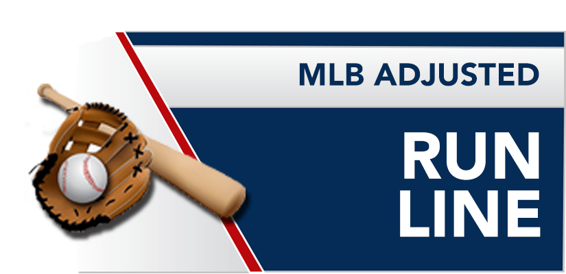 What is a MLB adjusted Run Line