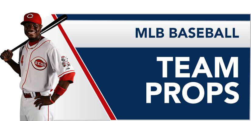 MLB Baseball Team Props