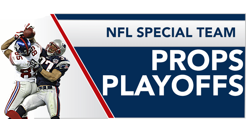 NFL Special Team Props | Playoffs
