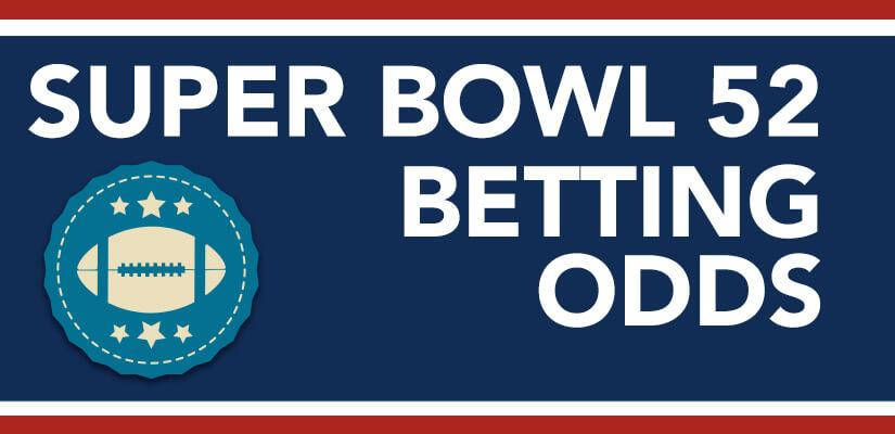 Super Bowl 52 Betting Odds