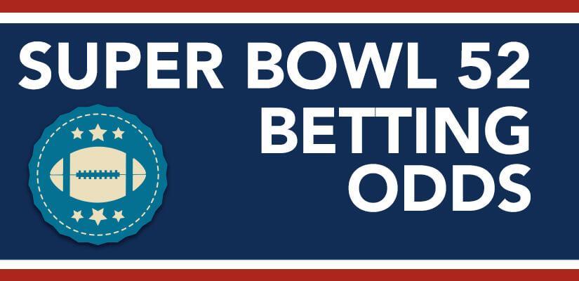 Super Bowl 52 Betting Odds