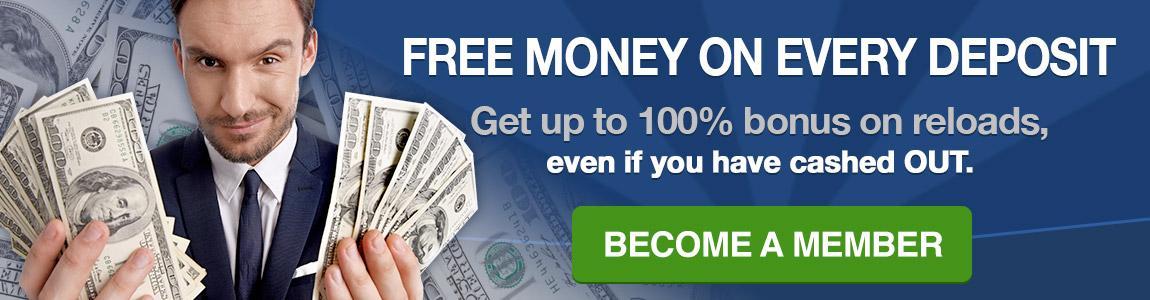 1500 Freeplay Bonus