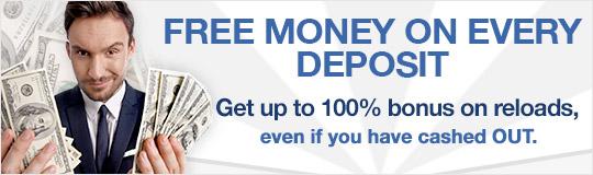 Free money on deposit