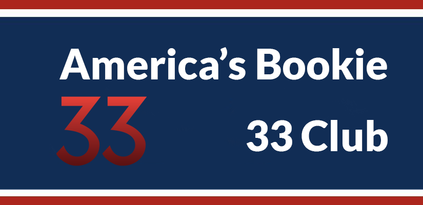 Join The America's Bookie 33 Club