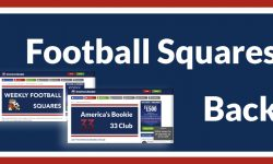 The America's Bookie Weekly Football Squares Contest is Back