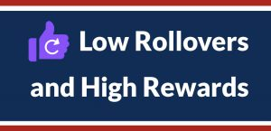 Low Rollovers and High Rewards at America's Bookie