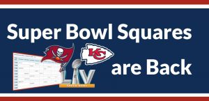 Super Bowl Squares are Back at America's Bookie
