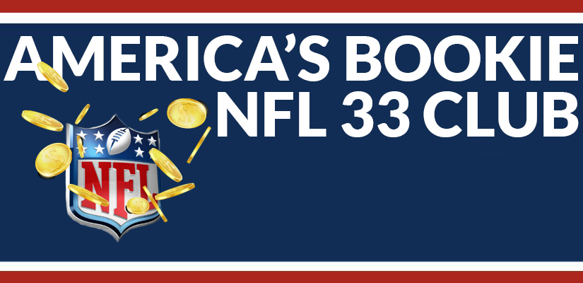 Join the America's Bookie NFL 33 Club This Football Season