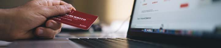 fund via a credit card